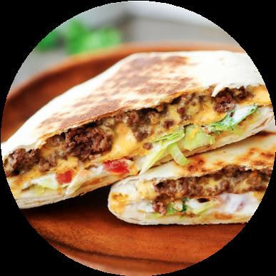 air fried taco bell crunchrwap