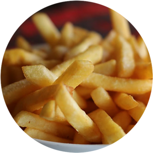 frozen air fried french fries